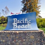 Pacific Beach community sign