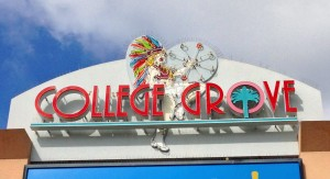 College Grove Sign