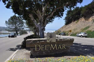 Del Mark community sign