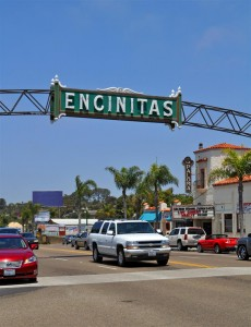 Encinitas community sign
