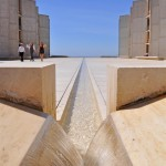 Salk Institute fountain