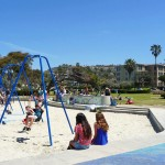 Kellogg Park Playground by the beach
