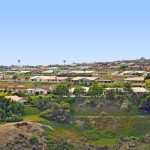 View of La Jolla Alta homes from the east