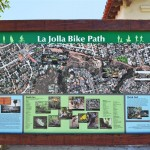 La Jolla Bike Path map