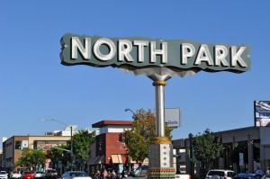 North Park community sign