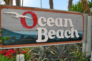 Ocean Beach community sign