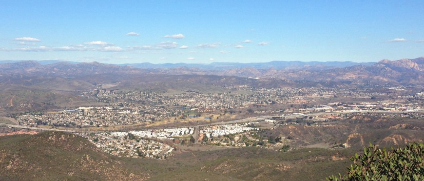 Santee_-_Panorama_from_Mission_Trails