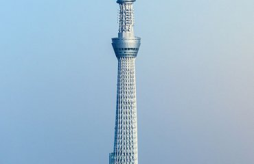The Tokyo Sky Tree by Jordy Meow licensed under the terms of CC BY-SA 3.0