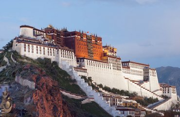 Potala Palace by Coolmanjackey licensed under the terms of CC BY-SA 3.0