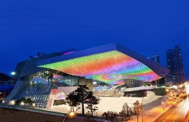 Busan Cinema Center by Obristv licensed under the terms of the CC BY-SA 3.0