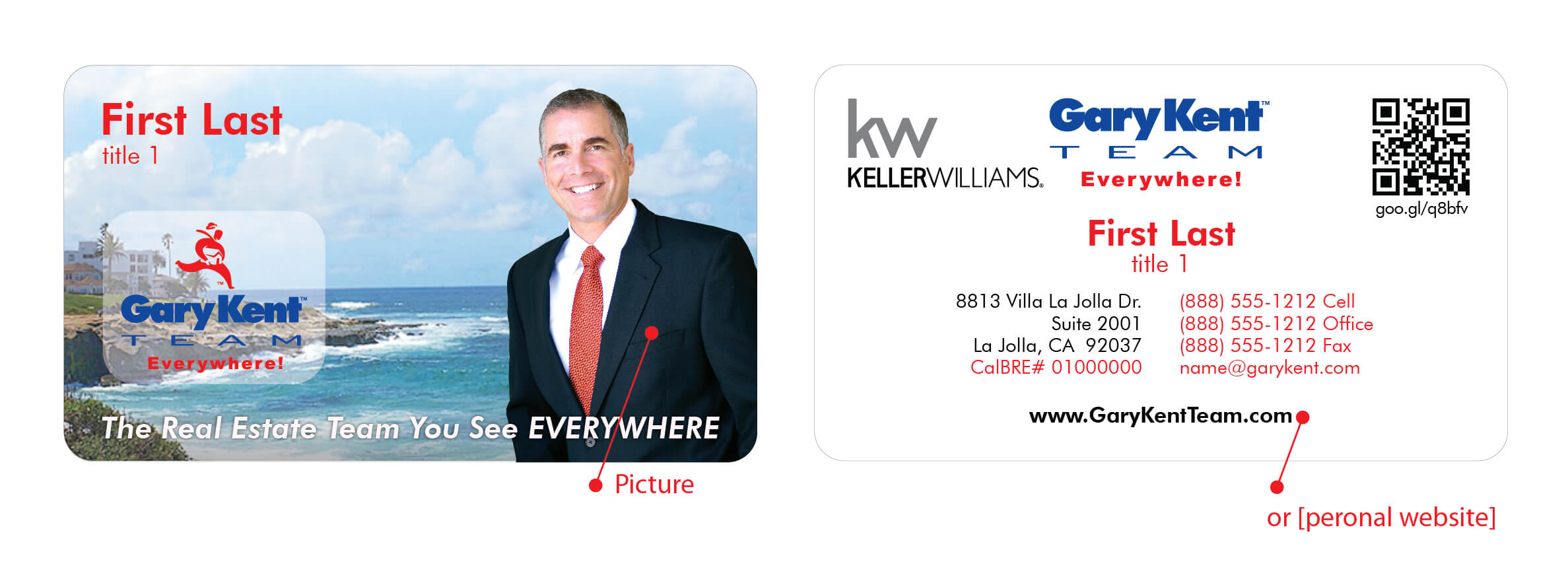 Business card request form gary kent real estate business card request form reheart Image collections