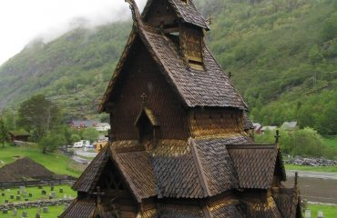 Borgund Stave Church by Tnarik Innael licensed under the terms of the CC BY-SA 2.0