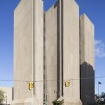 Buffalo City Court Building. Photo by sah1365. An example of Brutalist Architecture.