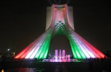 Azadi Tower by Mahdi Kalhor licensed under the CC BY 3.0