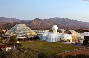 Biosphere 2 by Johndedios licensed under the terms of CC BY 3.0