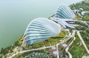 The Gardens by the Bay by CEphoto, Uwe Aranas licensed under the terms of the CC BY-SA 3.0