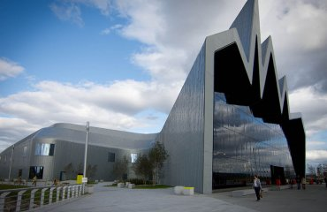 Glasgow Riverside museum by nuklr.dave is licensed under CC BY 2.0