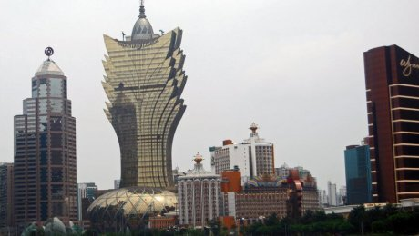 Grand Lisboa Hotel by Harvey Barrison licensed under the terms of the CC BY-SA 2.0