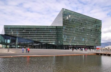 Harpa Reykjavik Concert Hall and Conference Center by Sarah Ackerman licensed under the terms of CC BY 2.0