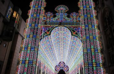 Light Cathedral by Zeisterre licensed under the terms of CC BY-SA 3.0