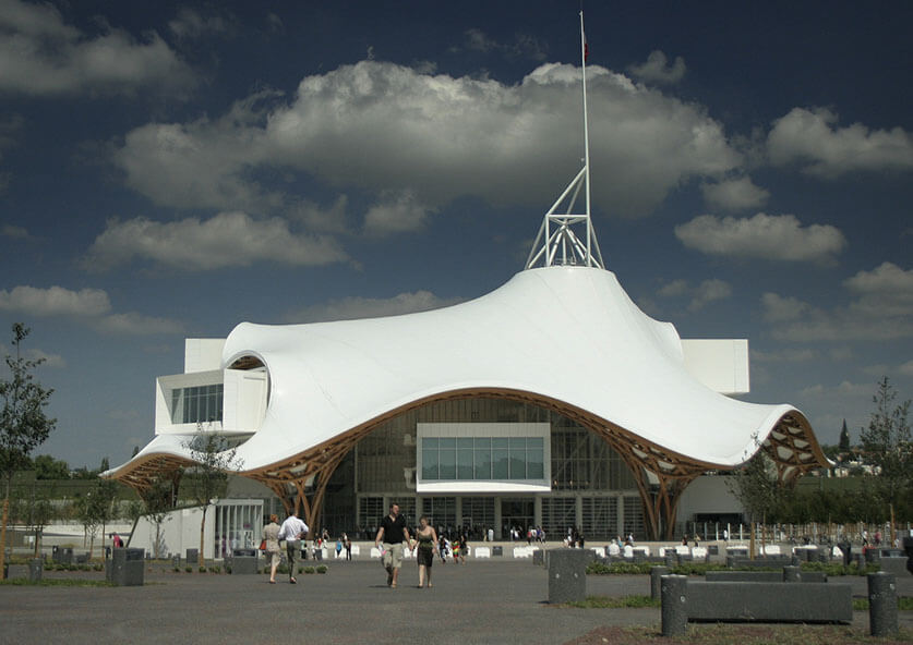 Centre Pompidou-Metz by manuelsvay is licensed under CC BY 2.0