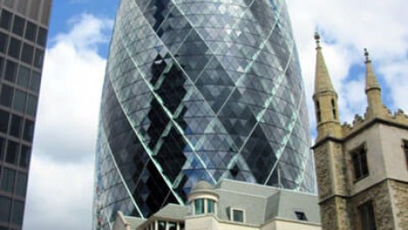 The Gherkin by Morgaine is licensed under CC BY-SA 2.0