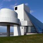 Rock and Roll Hall of Fame Museum by Dakota Callaway is licensed under CC BY 2.0