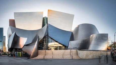 Walt Disney concert hall building - Los Angeles, United States - Architecture photography by Giuseppe Milo is licensed under CC BY 2.0