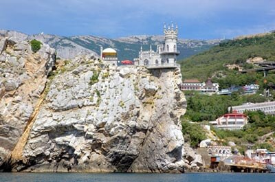 Swallow's Nest by Fr Maxim Massalitin is licensed under CC BY-SA 2.0