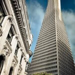 Old vs New II (Transamerica Pyramid) by Spiros Vathis is licensed under CC BY-ND 2.0