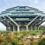 """The Dr Geisel Suess Library at University of California San Diego. You may recognize the building from the final scene in Inception"" by Lou Stejskal is licensed under CC BY 2.0"