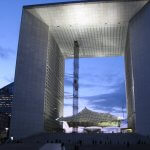 """Grande Arche, La Défense, Paris"" by Christian Heindel is licensed under CC BY-SA 2.0"