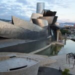 """Guggenheim Museum and Nervión River in Bilbao, Spain"" by Tim Adams is licensed under CC BY 2.0"