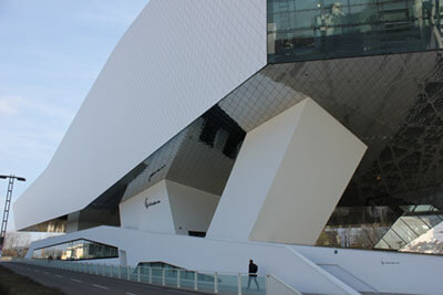 """Porsche Museum"" by Christine und Hagen Graf is licensed under CC BY 2.0"