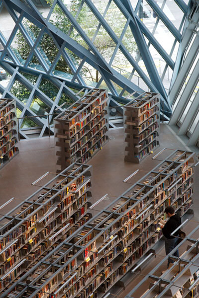 """Seattle Central Library"" by Adam Foster is licensed under CC BY 2.0"