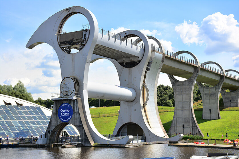 """""""Falkirk Wheel"""" by Mike McBey is licensed under CC BY 2.0"""