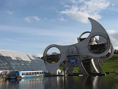 """""""IMG_5112"""" (Falkirk Wheel) by Erica is licensed under CC BY 2.0"""