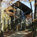 """Thorncrown Chapel"" by Brad Holt is licensed under CC BY 2.0"