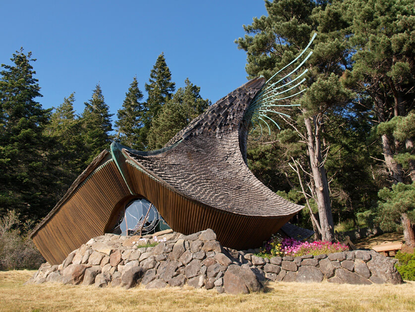 """Sea Ranch Chapel"" by Ingrid Taylar is used with permission"