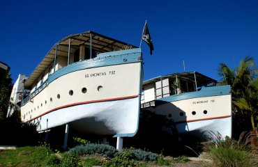 """""""The Encinitas, CA Boat Houses"""" by Joe Wolf is licensed under CC BY-ND 2.0"""
