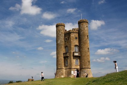 """""""Broadway Tower"""" by Robyn Cox is licensed under CC BY-SA 2.0"""