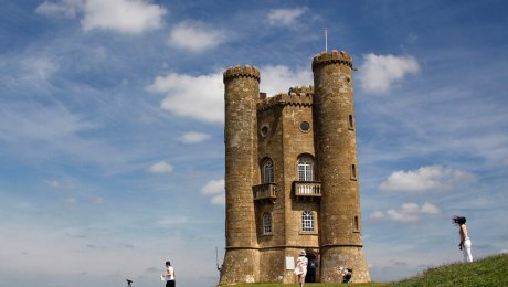 """Broadway Tower"" by Robyn Cox is licensed under CC BY-SA 2.0"