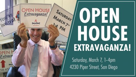 Open House Extravaganza March 7, 2020 from 1-4pm 4230 Piper Street, San Diego