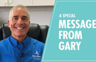 a special message from gary