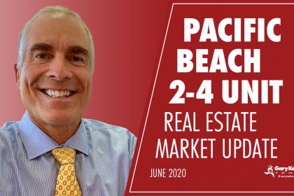 Pacific Beach 2-4 unit real estate market update for June 2020